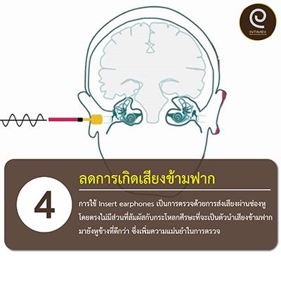 ลดการเกิดเสียงข้ามฟาก-ตรวจการได้ยิน ไม่ต้องครอบหู