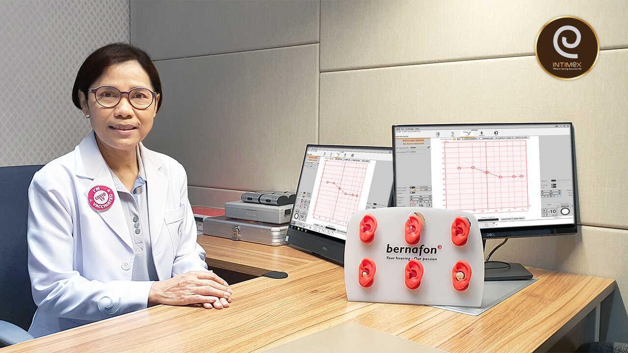 นักแก้ไขการได้ยิน พี่ดวง fitting audiologist