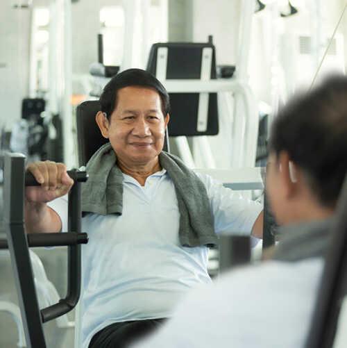 ผู้ที่ใส่เครื่องช่วยฟัง ให้เครื่องช่วยฟังช่วยเหลือคุณ-ออกกำลังกาย