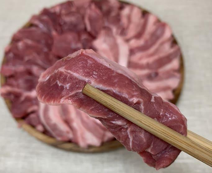 กินเนื้อสด อาหารหูดับ