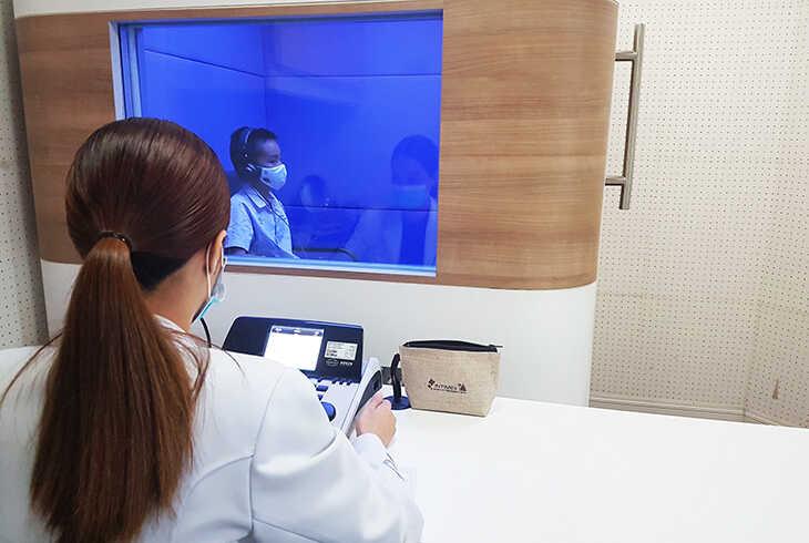 ตรวจการได้ยิน ศูนย์สุขภาพ การได้ยิน อินทิเม็กซ์ เชียงใหม่ เครื่องช่วยฟัง