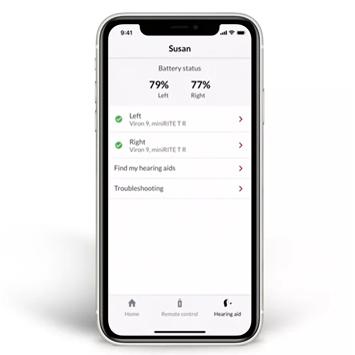 Status อุปกรณ์เสริม เครื่องช่วยฟัง accessories apple accessories hearingaid