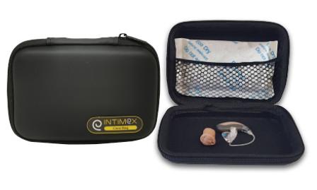 กระเป๋าพกพา สำหรับเก็บเครื่องช่วยฟัง ผลิตภัณฑ์ ดูแลเครื่องช่วยฟัง